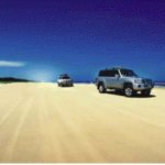 Playing in the Sand - Fraser Island