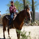 Ride 'Em Cowboy! Horse Riding, Saguaro Cactus and Rattlesnakes