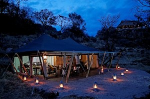 Serengeti Pioneer Camp - Tented Room Exterior