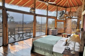 Tarangire Treetops - Tree House Bedroom