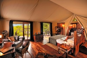Serengeti Migration Camp - Tented Room Interior