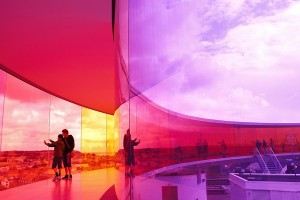 ARoS Museum of Modern Art - My rainbow panorama