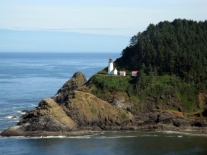 Haceta Head Lighthouse. Photo by Oregon Department of Transportation