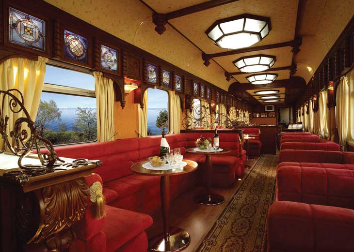 Tour of Iran on Golden Eagle Train