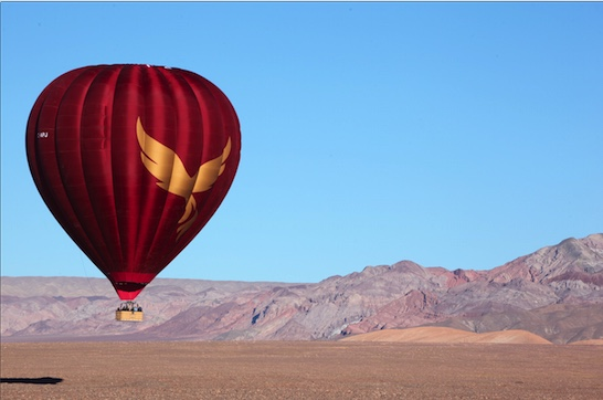 Atacama Desert: Balloon flight to another planet