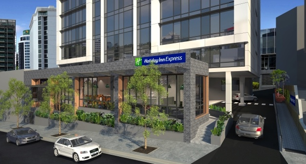 Holiday Inn Express opens in central Brisbane